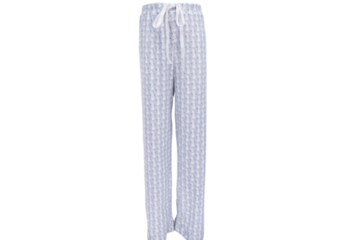 Lila and Hayes Lila and Hayes Beckett Boys Hangout Pant - Blue Snowman