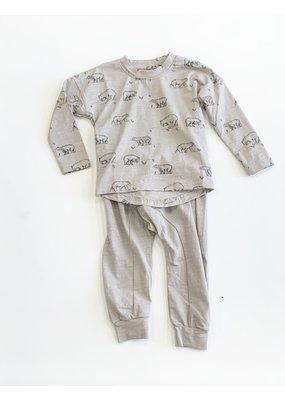 Charming Mary Charming Mary Flint Tee Bears and Knit Jogger Set