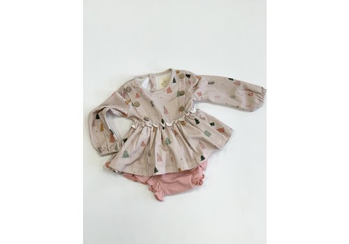 Charming Mary Tree Farm Tunic Top & Bloomer Set