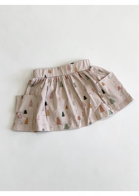 Charming Mary Charming Mary Tree Farm Pocket Skirt