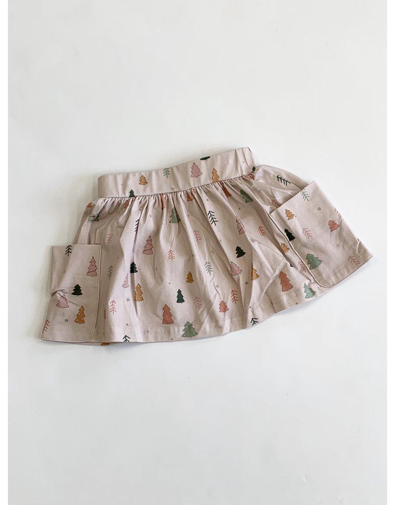 Charming Mary Charming Mary Tree Farm Pocket Skirt