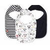Magnetic Baby Magnetic Me Raise the Woof Modal Magnetic Bibs 3 Pack