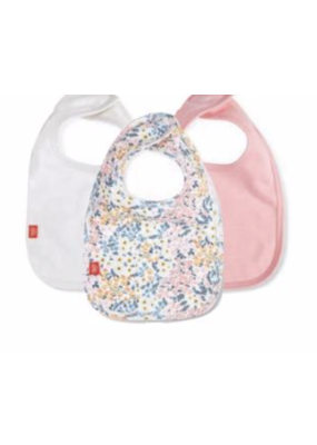 Magnetic Baby Magnetic Me Chelsea Org Cotton Bibs 3Pack