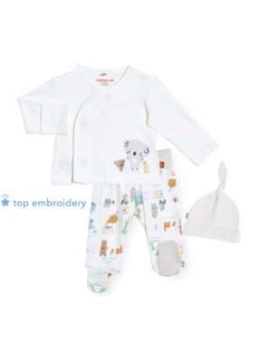 Magnetic Baby Magnetic Me  My Year of Firsts Kimono Set 0-3m