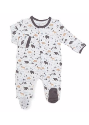 Magnetic Baby Magnetic Me Tiny Tundra Modal Footie