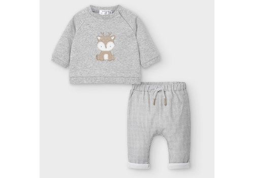 Mayoral Mayoral Pants & Pullover Set