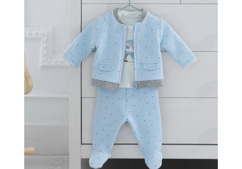 Mayoral Mayoral Boy Tracksuit Set in Sky 3pcs