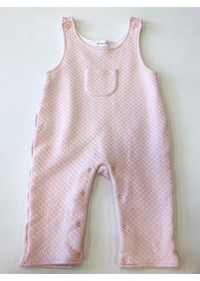 Dondolo Dondolo Pink Quilted Overall 18m