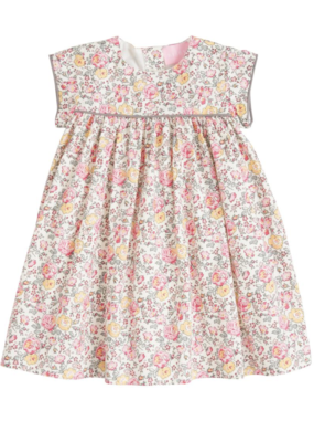 Bisby BLE Charlotte Dress Pink Rose Garden