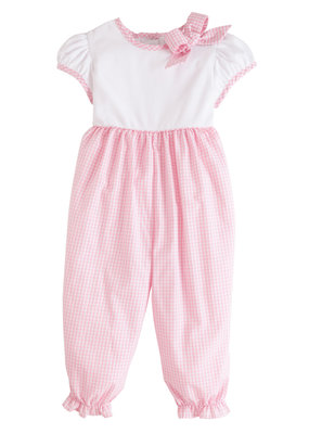 Little English Little English Park Avenue Romper - Light Pink