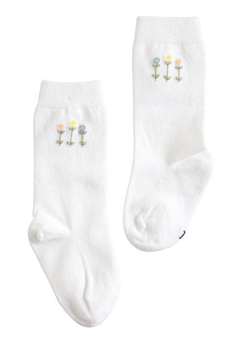 Little English Little English Knee High Socks - Garden Party