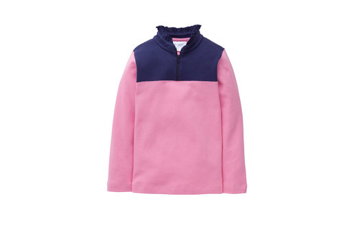 Little English Little English  Hastings Half Zip - Girl - Hot Pink