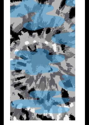 IS Gaiter Mask Child - Blue Tie Dye