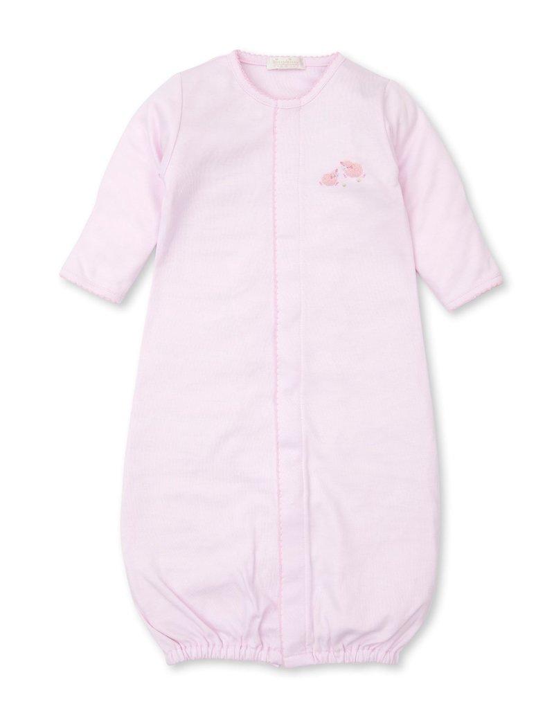 Kissy Kissy KK Converter Gown w/Hand Emb Premier Sheep Pink