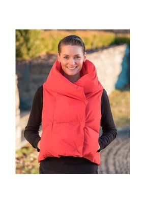 Pretty Rugged PR Puffer Vest in Red