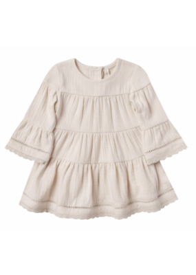 Quincy Mae Quincy Mae Belle Dress Pebble