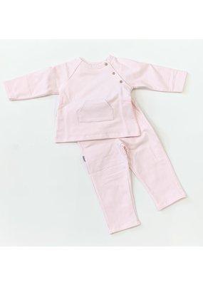 Babidu Babidu Sweatshirt & pant set Pink