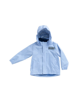 Prodoh Prodoh Water & Wind Reflective Jacket in Baby Blue Jay