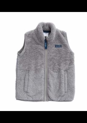 Prodoh Prodoh Solid Sherpa Vest in Igeneous Gray