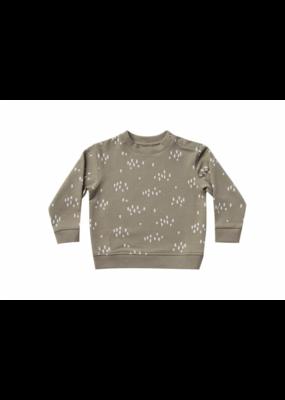 Quincy Mae Quincy Mae SET of 2 - Fleece Sweatpant AND Sweatshirt Set Olive