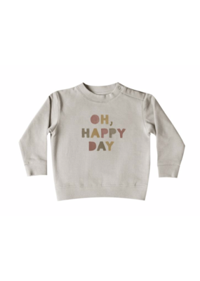 Quincy Mae Quincy Mae SET of 2 - Fleece Sweatpant AND Sweatshirt Set Fog