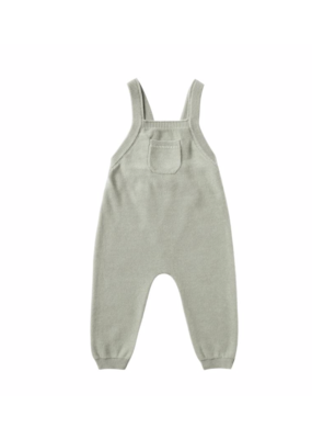 Quincy Mae Quincy Mae Knit Overall Sage