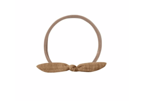 Quincy Mae QM Little Knot Headband Walnut