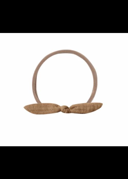 Quincy Mae QM Little Knot Headband Walnut