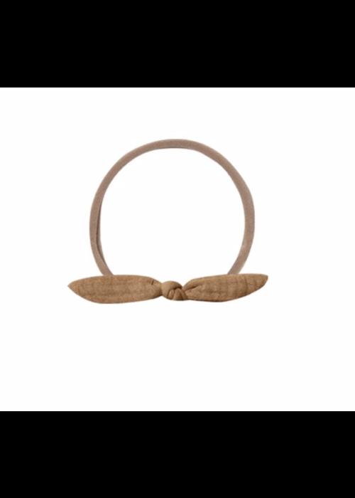 Quincy Mae QM Little Knot Headband Honey