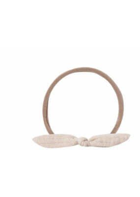 Quincy Mae QM Little Knot Headband Pebble