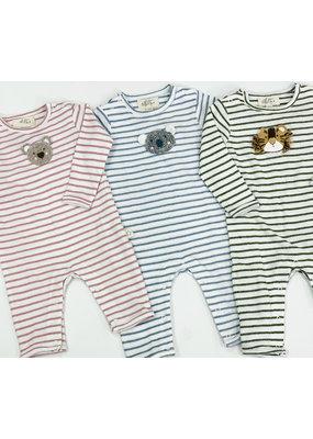 Albetta Albetta Crochet Snuggle Babygro - Tiger