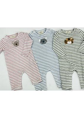 Albetta Albetta Crochet Snuggle Babygro - Bear