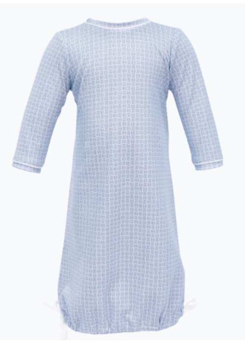 Lila and Hayes Lila and Hayes George Daygown 3m - Blue Basket Weave