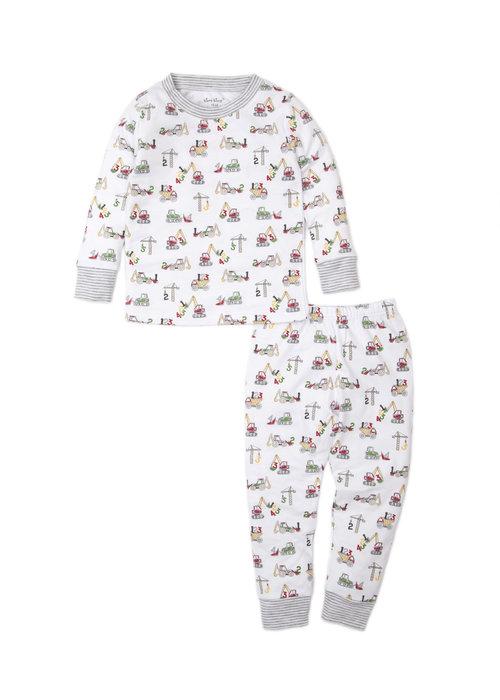 Kissy Kissy KK Pajama Set Snug PRT Construction Countdown