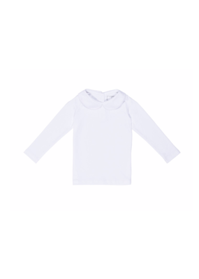 Lila and Hayes Lila & Hayes - Chandler - L/S Peter Pan Collar Shirt