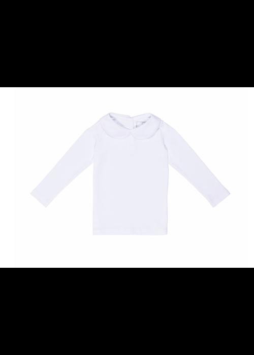 Lila and Hayes Lila & Hayes - Chandler - L/S Peter Pan Collar Shirt