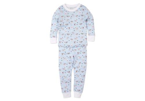 Kissy Kissy KK Pajama Set Snug PRT - Puppy Posse Lt. Blue