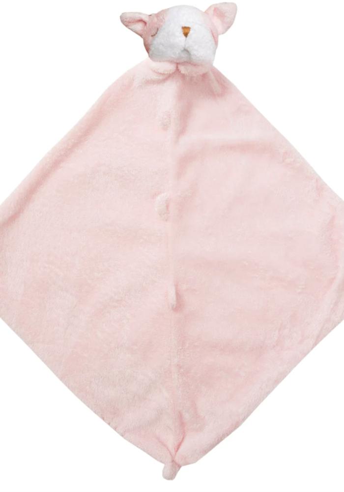 Angel Dear Pink Bulldog Blankie