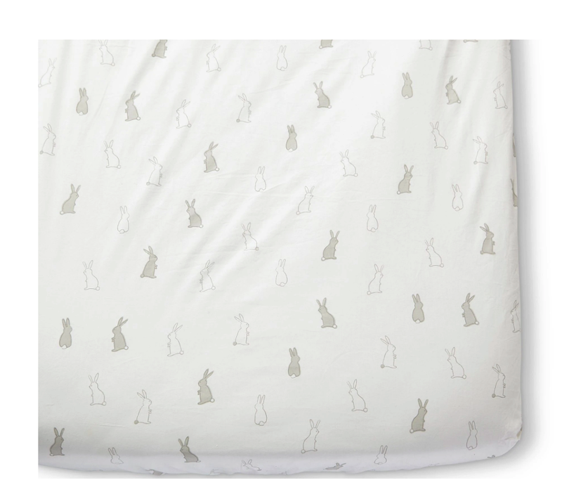 Crib Sheet - Bunny Hop