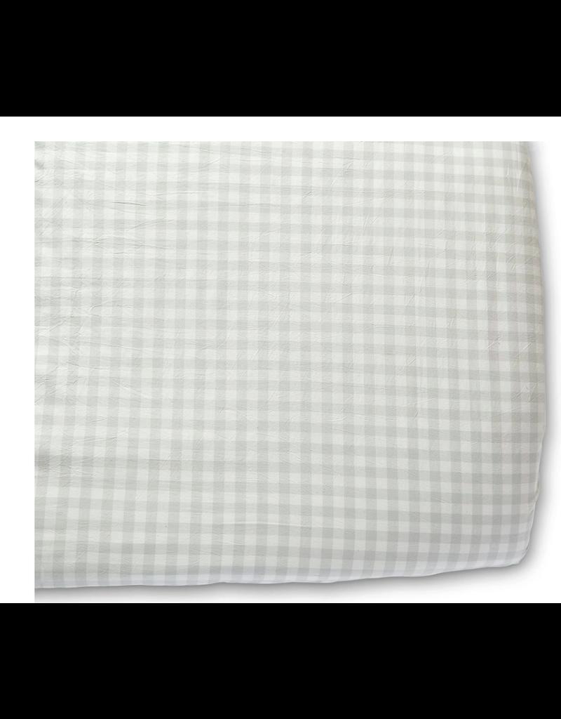 Pehr Pehr Crib Sheet - Checkmate Fog