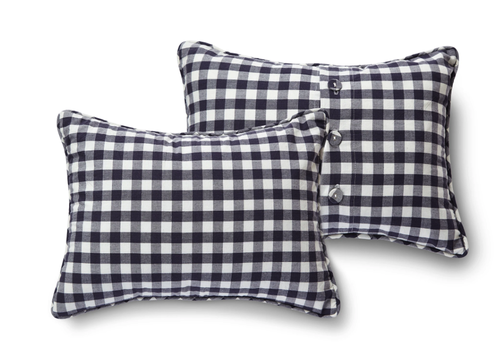 Pehr Pehr Decor Pillow Check Mate in Ink