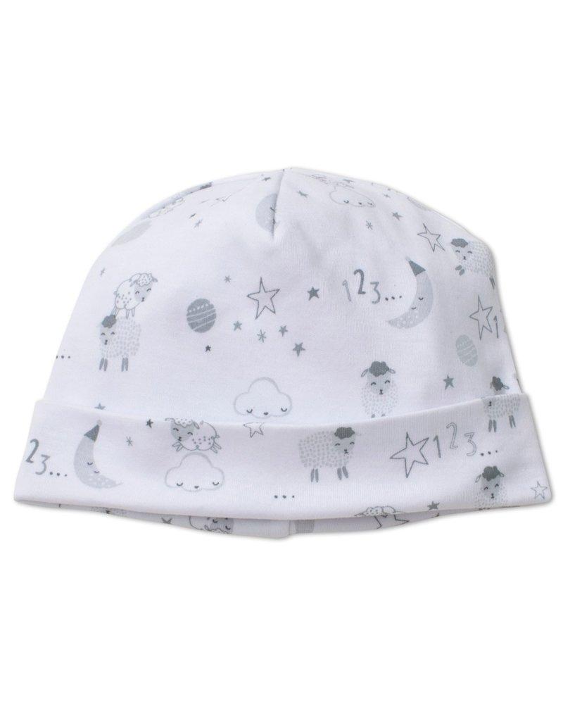 Kissy Kissy KK Hat Silver Counting Sheep - Small