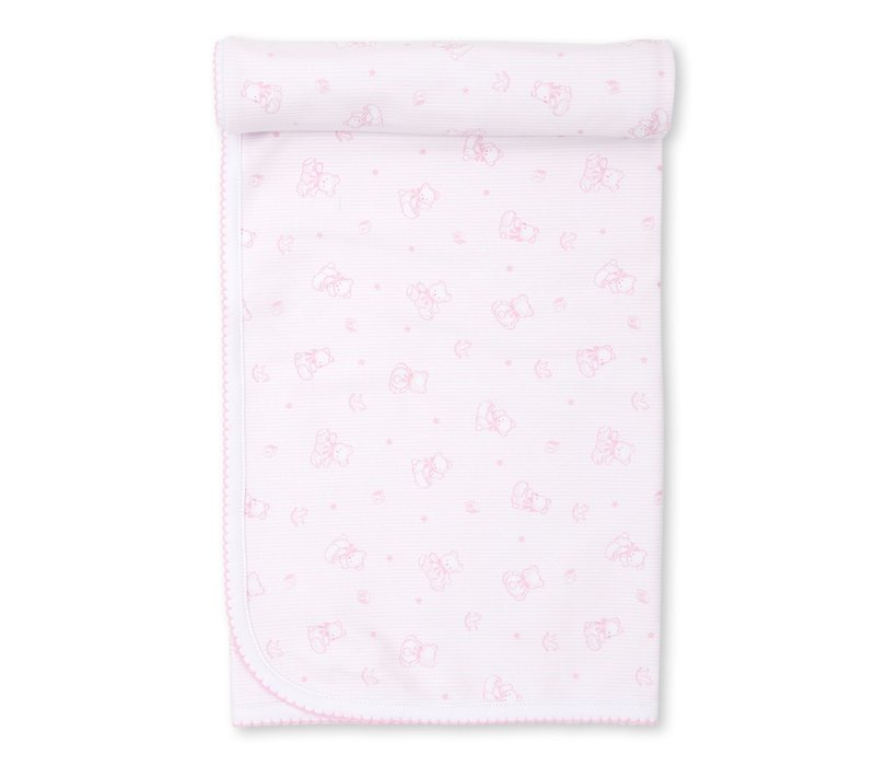 Bearly Beloved Pink Blanket