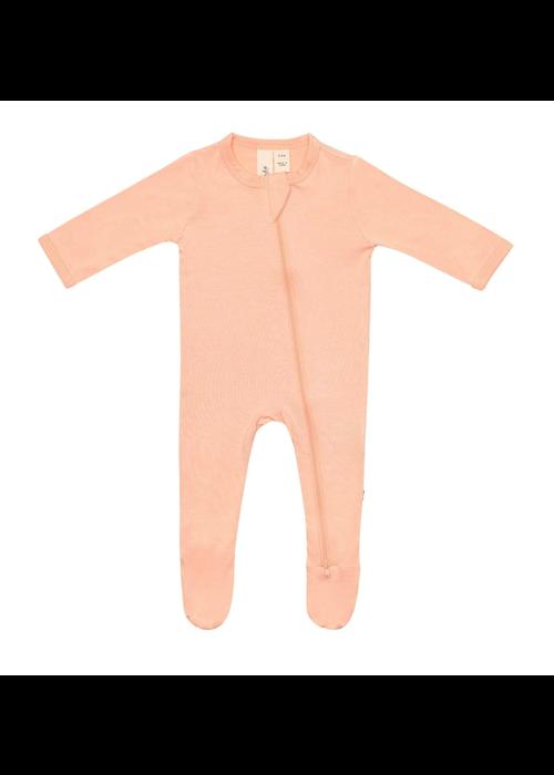 Kyte Baby Kyte Zippered Footie- Papaya