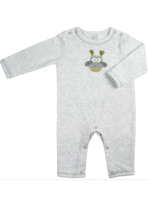 Albetta Albetta Crochet Snuggle Babygro - Owl