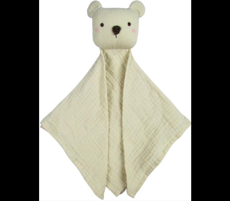 Albetta Cotton Snuggle Lovie - Bear