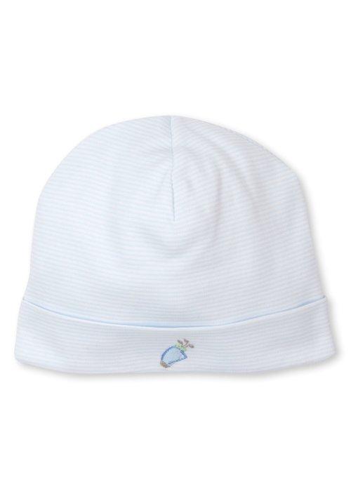 Kissy Kissy KK Premier Golf Hat w/hand emb STR Bl/Wht