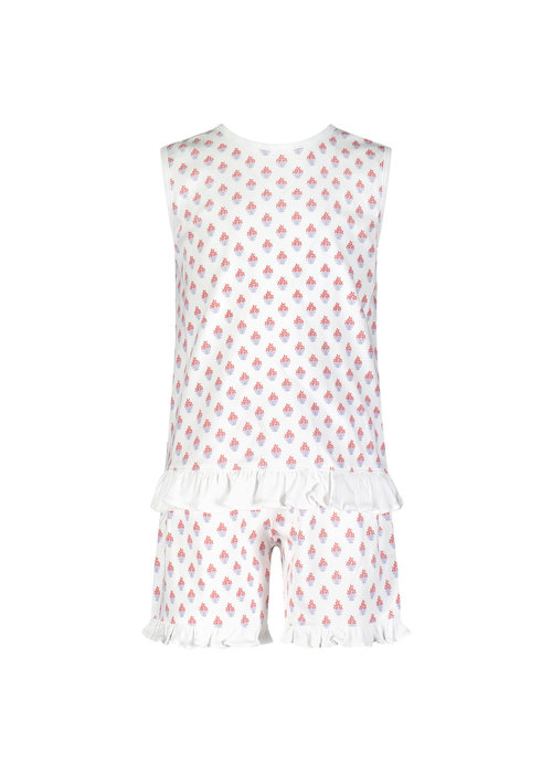 Lila and Hayes LH Poppy Short Set in Nantucket Blooms