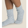 Barefoot Dreams BFD Socks- Blue Water/White
