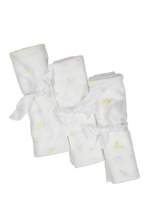 Pixie Lily PL Hey Diddle Blanket Blue/Ylw